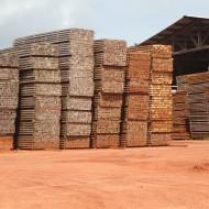 Mazière stock de bois